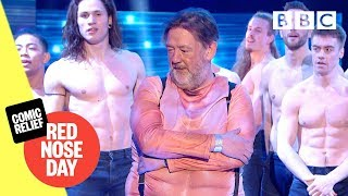 Hilarious Johnny Vegas 'strip' dance with Magic Mike 🔥😂 - Comic Relief 2019 - BBC