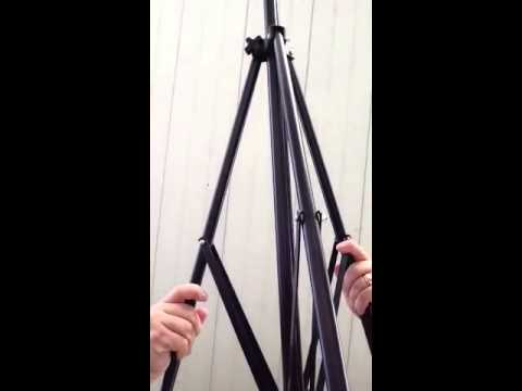 Review of Grifiti Nootle iPad Tripod Mount and Stand (Part 1 - Set-up and Unboxing)