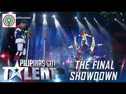 Pilipinas Got Talent Season 5 Live Finale: Dino Splendid Acrobats - All-Male Acrobat Group
