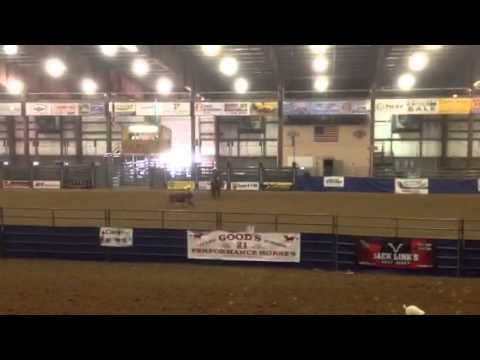 Taylor and Bodie ribbon roping 04/19/14