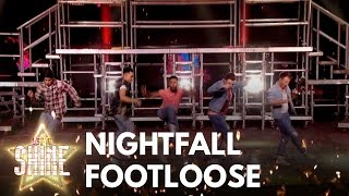 Nightfall perform 'Footloose' from the musical Footloose - Let It Shine 2017 - BBC One - BBC
