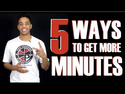 Top 5 Ways To Get More Playing Time | Pro Talk #2 | Pro Training Basketball