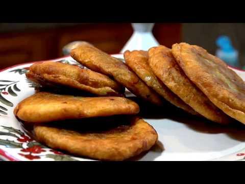 فطائر الباستا المقلية Fried Pasta Pies