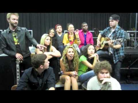 "American Idol Top 11 sing Justin Bieber's ""Baby"" (BOP and Tiger Beat)"