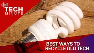 Best ways to recycle old tech - CNETTV
