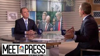 Full Schiff Interview: 'Just plain wrong and immoral' to separate families | Meet The Press - NBCNEWS