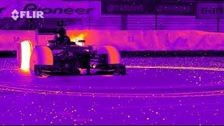 شاهد: ريد بل تستعرض قدرات سيارتها في فورمولا 1 بالأشعة تحت الحمراء