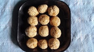How to make sesame laddu (నువ్వుల ఉండలు ).:: by Attamma TV ::. - ATTAMMATV