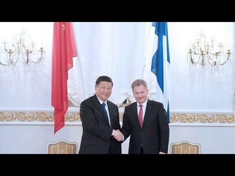 Chinese Finnish officials ink cooperative deals