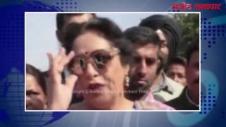 (वीडियो) : चंडीगढ़ के रोज़ फेस्टिवल में किरण खेर ने की शिरकत