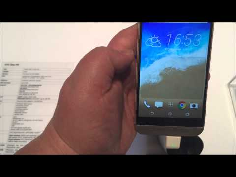 MWC 2015: HTC One M9 Hands-On