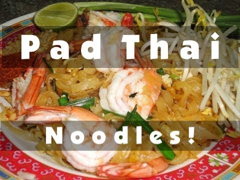 Thai Food Cooking Tutorial Pad Thai