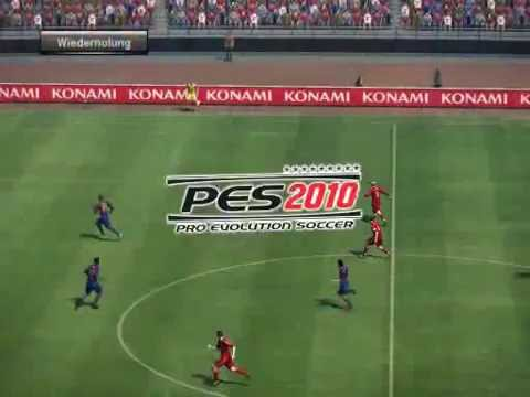 PES 2010 Pro Evolution Soccer Preview Match Liverpool FC vs Barcelona