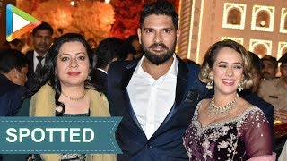 Cricketer Yuvraj Singh & wife Hazel SPOTTED at Isha Ambani- Anand Piramal's Wedding Celebrations - HUNGAMA