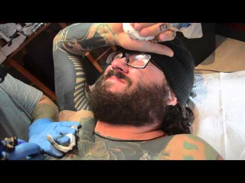 Getting your nipple tattooed