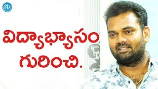 Ram Prasad About His Educational Background || Anchor Komali Tho Kaburlu - IDREAMMOVIES