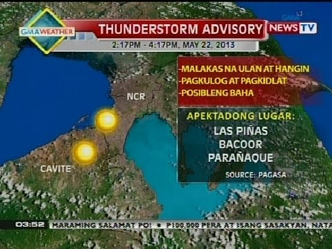 BP: Weather update as of 3:53 p.m. (May 22, 2013)