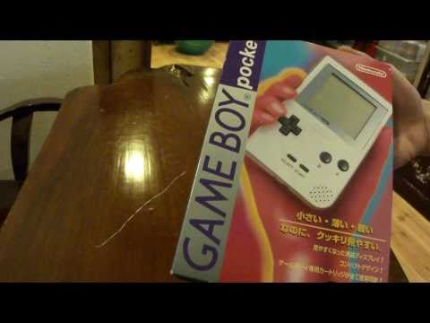 Nintendo Game Boy Pocket 1st Generation (1996) Unboxing