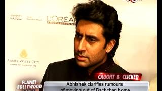 Abhishek Bachchan talks about moving out of Bachchan home