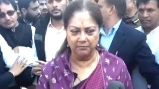 Gujarat, Himachal polls results prove PM Modi's respect, stronghold among masses: CM Raje - TIMESOFINDIACHANNEL