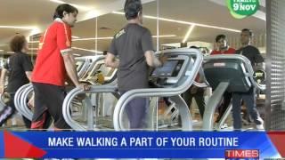 Walk towards a healthy lifestyle - TIMESNOWONLINE