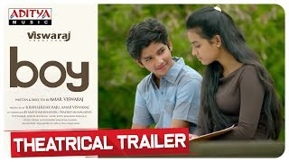 Boy Telugu Movie Theatrical Trailer | Lakshya Sinha, Sahiti | Amar Viswaraj - ADITYAMUSIC