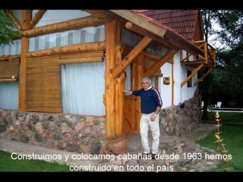 Construyendo caba as - Casas de madera maciza ...