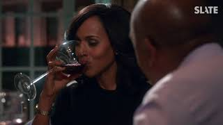 """Scandal"" Is Ending, but Olivia Pope Will Always Drink Giant Glasses of Wine - SLATESTER"