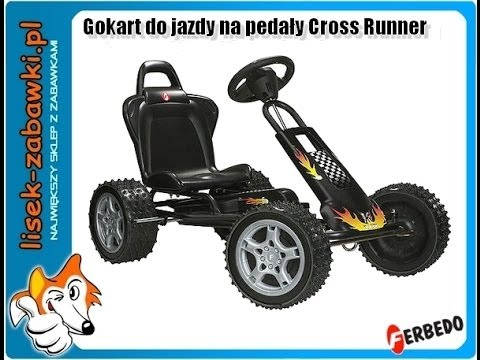 Gokart FERBEDO na pedały Cross Runner cr-1