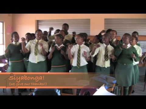 Building Schools in South Africa - Africa Classroom Connection 2010