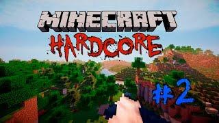 Minecraft Хардкор Сумеречный лес #2 Начало строительства