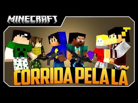 Minecraft: O Melhor Atirador! Corrida Pela Lã - #1 (FlansMod)
