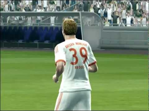 PES 2013 - Penalty shootout [Bayern Munich vs Real Madrid]