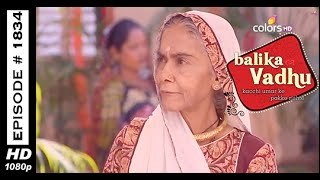 Balika Vadhu : Episode 1827 - 6th March 2015