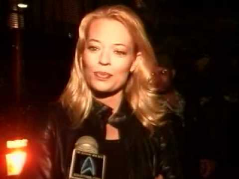 Jeri Ryan at Voyager's Wrap Party