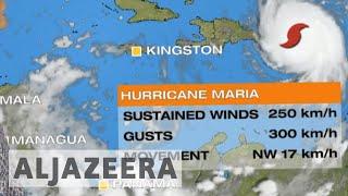 Hurricane Maria makes landfall in Puerto Rico - ALJAZEERAENGLISH