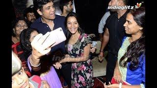 Raju Gari Gadhi 2 Special Screaning to Ladies #Nagarjuna #Samantha - IGTELUGU