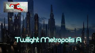 Royalty FreeBackground:Twilight Metropolis A