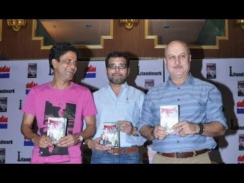 Manoj Bajpai & Anupam Kher Launch 'Special 26' Book