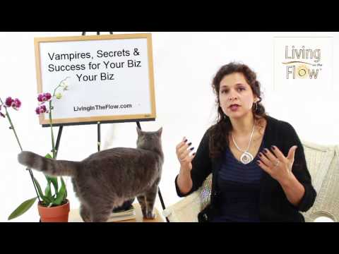 Vampire, Secrets & Success For Your Biz