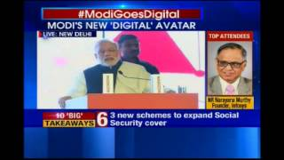 World is worried about cyber security, says PM Modi - NEWSXLIVE