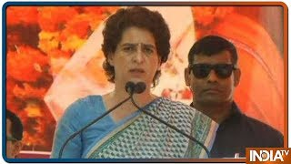 Priyanka Gandhi ने PM Modi पर बोला हमला कहा, अब PM जमीनी नेता नहीं रहे,वे विदेशी दौरे पर ही रहते हैं - INDIATV