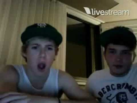 Niall Horan and Josh Devine Twitcam Monday 18 June 2012 pt 5