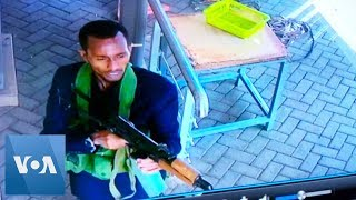 Security Footage Shows Nairobi Gunmen Entering Hotel - VOAVIDEO