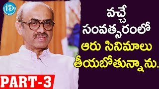 Venky Mama Producer Suresh Babu Full Interview Part - #3 || Talking Movies With iDream - IDREAMMOVIES