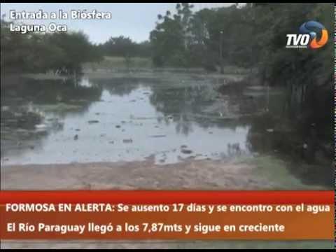TVOINFO - FORMOSA EN ALERTA: Se ausento 17 días y se encontro con el agua