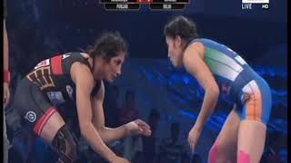 PWL 3 Day 10: Nirmala Devi Vs Meroi Mezien Pro Wrestling League at season 3 | Full Match - ITVNEWSINDIA
