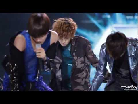 Fancam 120510 EXO-K KBS Open Concert - MAMA (Chanyeol focus)