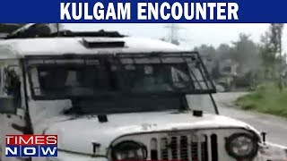 Kulgam Encounter: Three Terrorists Killed - TIMESNOWONLINE