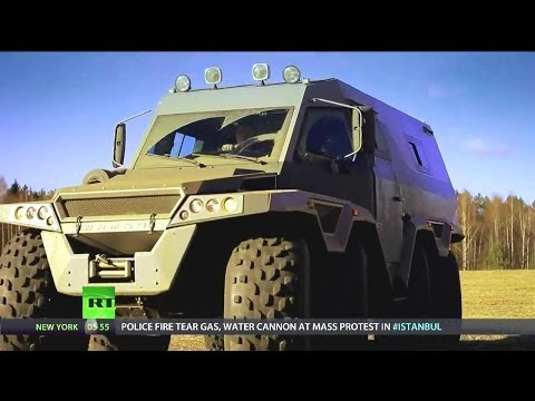 RT - Avtoros Shaman 8x8 All-Terrain Vehicle (ATV) [720p]